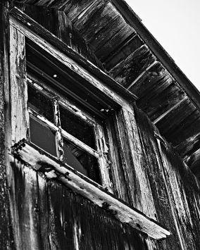 Window at O'Hara's Mill Homestead