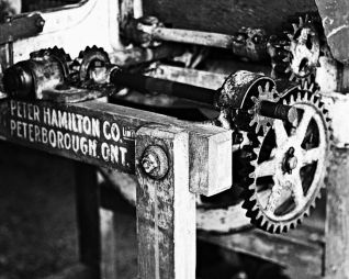 Machinery at O'Hara's Mill Homestead