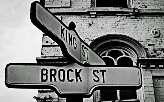 King & Brock Street