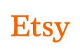 Etsy logo, linking to my shop.